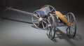 Collectible, Wood Cannon and Caisson Model. 44-1/2 x 9-1/4 x 9 inches (113.0 x 23.5 x 22.9 cm). ... (Total: 2 Items)