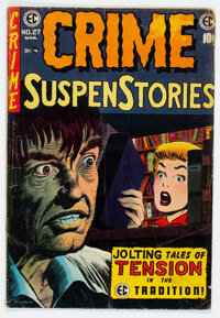 Crime SuspenStories #27 (EC, 1955) Condition: GD/VG