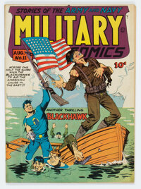 Military Comics #11 (Quality, 1942) Condition: Apparent FN+