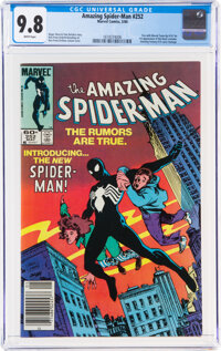 The Amazing Spider-Man #252 (Marvel, 1984) CGC NM/MT 9.8 White pages