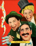"""Movie Posters:Comedy, Marx Brothers (MGM, c. 1935). Rolled, Very Fine. Full-Bleed Personality Poster (22"""" X 28"""").. ..."""