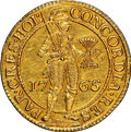Netherlands:Holland, Netherlands: Holland. Provincial gold 2 Ducat 1765 UNC Details (Removed From Jewelry) NGC,...