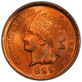 Indian Cents, 1899 1C MS66+ Red PCGS. CAC....
