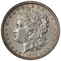 Morgan Dollars, 1895-O $1 -- Harshly Cleaned -- PCGS Genuine. AU Details. Mintage 450,000....
