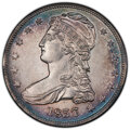 Reeded Edge Half Dollars, 1837 50C AU55 PCGS. PCGS Population: (291/686 and 0/16+). NGC Census: (184/822 and 0/8+). CDN: $450 Whsle. Bid for NGC/PCGS...