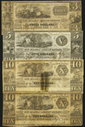Obsoletes By State:Michigan, Royal Oak, MI- Farmers Bank of Oakland $3 18__ Remainder; $5 Dec. 28, 1837; $10 May 1, 1849; $10 18__ Remainder Fine or Be... (Total: 4 notes)