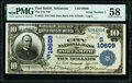 Fort Smith, AR - $10 1902 Date Back Fr. 623 The City National Bank Ch. # (S)10609 PMG Choice About Unc