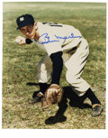 Autographs:Photos, Billy Martin Single Signed Photograph. As a manager, Billy Martinwas known for his ability to win and arguing with the ump...