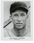 Autographs:Photos, Lefty Grove Single Signed Photograph. With too many accomplishmentsto list, suffice to say, Lefty Grove was one of the gre...