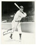 Autographs:Photos, Hank Greenberg Single Signed Photograph. Having played most of hisprofessional career with the Detroit Tigers, Hall of Fam...