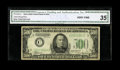 Small Size:Federal Reserve Notes, Fr. 2202-C $500 1934A Federal Reserve Note. CGA Very Fine 35.. ...