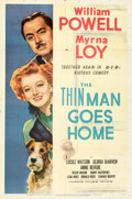 """Movie Posters:Mystery, The Thin Man Goes Home (MGM, 1945). Folded, Very Fine-. One Sheet (27"""" X 41"""").. ..."""