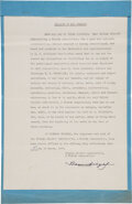 "Autographs:Celebrities, Benjamin ""Bugsy"" Siegel Legal Document Signed ..."