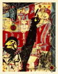 Prints & Multiples, Shepard Fairey (b. 1970). Castro Collage, 2003. Screenprint in colors on paper. 48 x 36 inches (121.9 x 91.4 cm) (sheet)...