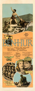 Movie Posters:Drama, Ben-Hur (MGM, 1925). Very Good on Paper. Insert (1...