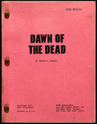 Dawn of the Dead by George A. Romero (United Film Distribution, 1978). Very Fine-. Original Final Shooting Script (127 p...