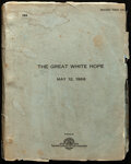 Movie Posters:Drama, The Great White Hope by Howard Sackler (20th Century Fox, ...