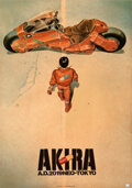 Movie Posters:Animation, Akira (Toho, 1987). Fine/Very Fine on Linen. Japan...