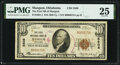 National Bank Notes:Oklahoma, Mangum, OK - $10 1929 Ty. 1 The First National Bank Ch. # 5508 PMG Very Fine 25.. ...