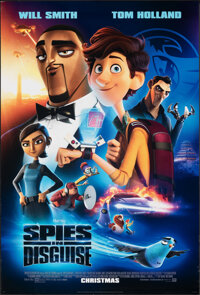 """Spies in Disguise (20th Century Fox, 2019). Rolled, Very Fine+. One Sheets (2) (27"""" X 40"""") DS Advance Styles B..."""