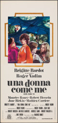 """Movie Posters:Foreign, Don Juan (or if Don Juan were a Woman) (Capitol International, 1973). Folded, Very Fine. Italian Locandina (13"""" X 27.5""""). Al..."""