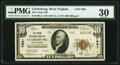 National Bank Notes:West Virginia, Clarksburg, WV - $10 1929 Ty. 2 The Union National Bank Ch. # 7681 PMG Very Fine 30.. ...
