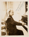 Autographs:Celebrities, Ignace Jan Paderewski Photograph Signed ...