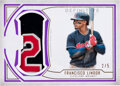 Baseball Cards:Singles (1970-Now), 2019 Topps Definitive Collection Francisco Lindor (Definit...