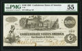 Confederate Notes:1862 Issues, T39 $100 1862 PF-2 Cr. UNL PMG About Uncirculated 55.. ...