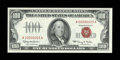 Small Size:Legal Tender Notes, Fr. 1550 $100 1966 Legal Tender Note. Low Serial Number 25. Very Choice Crisp Uncirculated.. ...