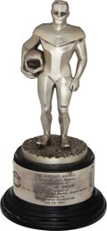 """Football Collectibles:Others, 1984 Mackey Award Presented to Jimmy The Greek from The Jimmy """"The Greek"""" Snyder Collection...."""