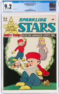 Golden Age (1938-1955):Miscellaneous, Sparkling Stars #2 (Holyoke Publications, 1944) CGC NM- 9.2 Off-white to white pages....