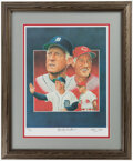 Autographs:Others, Sparky Anderson Signed Print. ...