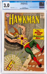 Hawkman #4 (DC, 1964) CGC GD/VG 3.0 Off-white pages