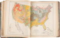 Books:Maps & Atlases, Francis A. Walker and Julius Bien, lithographer. Statistical Atlas of the United States. Based on the results of t...