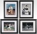 Autographs:Photos, Baseball Hall of Famers Single Signed Photographs, Lot of 4.... (Total: 4 items)