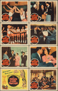 """Movie Posters:Sports, The Harlem Globetrotters (Columbia, R-1957). Fine/Very Fine. Lobby Card Set of 8 (11"""" X 14""""). Sports.. ... (Total: 8 Items)"""