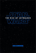 """Movie Posters:Science Fiction, Star Wars: The Rise of Skywalker (Walt Disney Studios, 2019). Rolled, Very Fine+. One Sheet (27"""" X 40"""") DS Teaser. Science F..."""