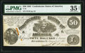 Confederate Notes:1861 Issues, T14 $50 1861 PF-8 Cr. 77 PMG Choice Very Fine 35 Net.. ...