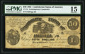 CT14 $50 1861 Counterfeit PMG Choice Fine 15