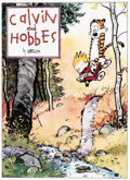Memorabilia:Comic-Related, Bill Watterson Calvin and Hobbes Signed Limited Edition Lithograph Print #669/1000 (Watterson, 1992)....