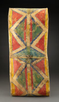 American Indian Art:Pipes, Tools, and Weapons, A Plains or Plateau Painted Parfleche Envelope...