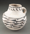 American Indian Art:Pottery, An Anasazi Black-On-White Pitcher c. 1150 AD