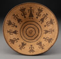 American Indian Art:Baskets, A Pima/Papago Pictorial Coiled Bowl...