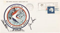 Explorers:Space Exploration, Apollo 15 Crew-Signed Insurance Cover Originally from the ...