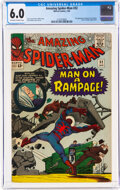 Silver Age (1956-1969):Superhero, The Amazing Spider-Man #32 (Marvel, 1966) CGC FN 6.0 Off-white to white pages....