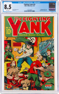 Golden Age (1938-1955):Superhero, Fighting Yank #10 (Nedor Publications, 1944) CGC VF+ 8.5 W...