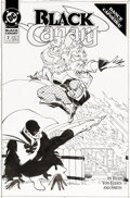 Original Comic Art:Covers, Trevor Von Eeden and Bob Smith Black Canary ...