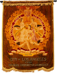 1932 Los Angeles Summer Olympics Banner
