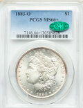 Morgan Dollars: , 1883-O $1 MS66+ PCGS. CAC. PCGS Population: (977/87 and 151/18+). NGC Census: (1057/43 and 51/1+). CDN: $220 Whsle. Bid for...